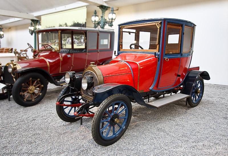 Автомузей; Национальный музей автомобилей, Мюлуз (Mulhouse), Франция; Zedel, Coupé docteur CI, 1911